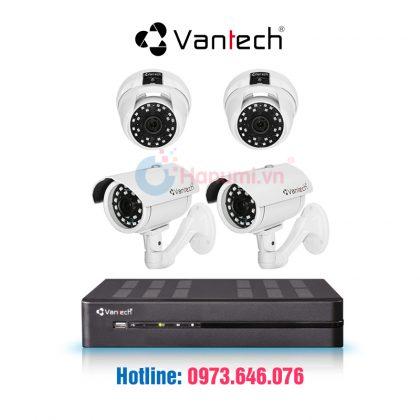 Trọn bộ 4 camera HDTVI Vantech 2.0MP giảm 50%