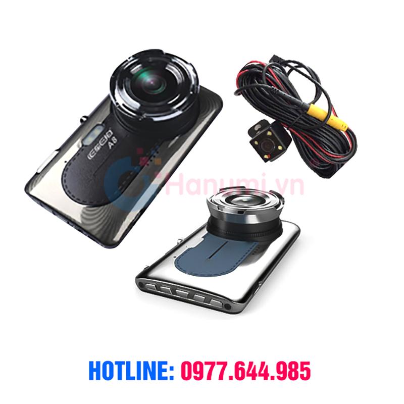 Camera hành trình tích hợp camera lùi A8 Full HD 1080p