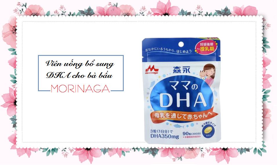 Viên uống bổ sung DHA Morinaga cho bà bầu và đang cho con bú chính hãng Nhật Bản