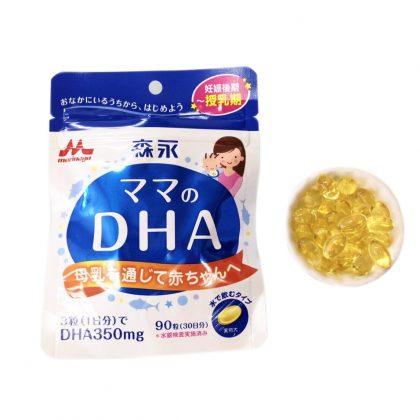 Viên uống bổ sung DHA Morinaga cho bà bầu và đang cho con bú